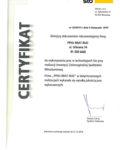 Certyfikat-Rekomendacja do wykonywania prac w technologii Sto